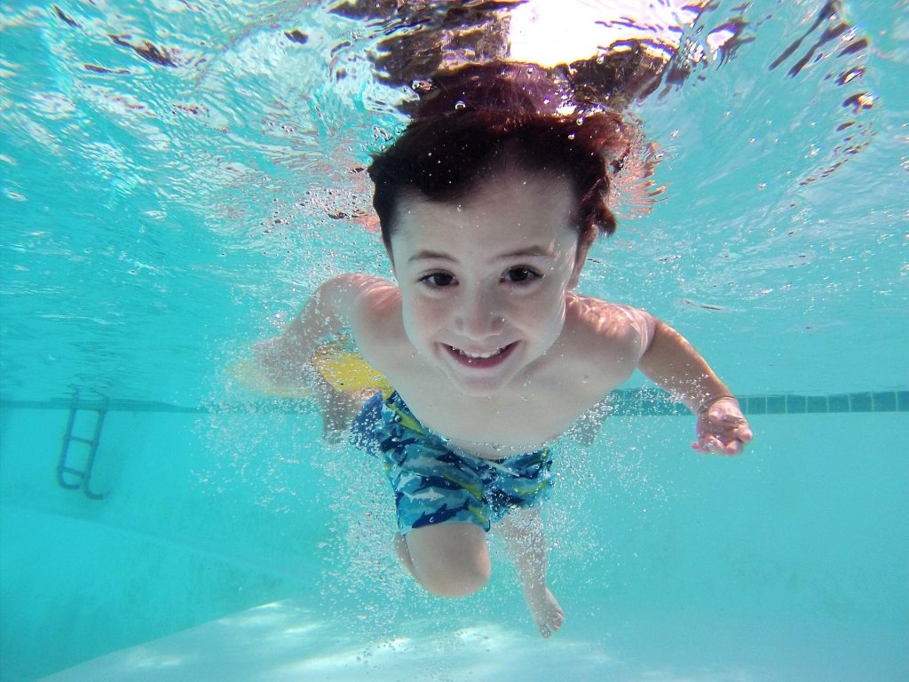 Swim lessons and water safety